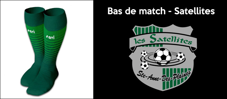 bas de match, les satellites de SADP