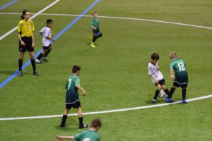 U9MD1, Soccer SADP, match 1 session hiver