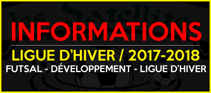 ligue d'hiver, soccer sadp, satellites